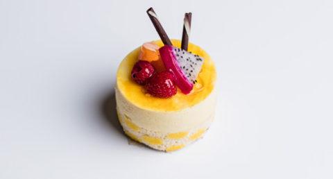 Dessert fruit de la passion