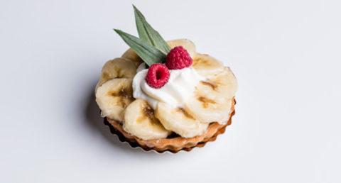Tartelette à la banane