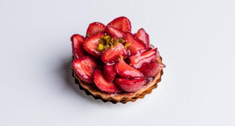 Tartelette fraisier