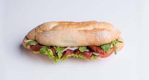Sandwich au bresaola