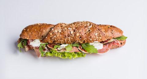 Sandwich au jambon de Parme