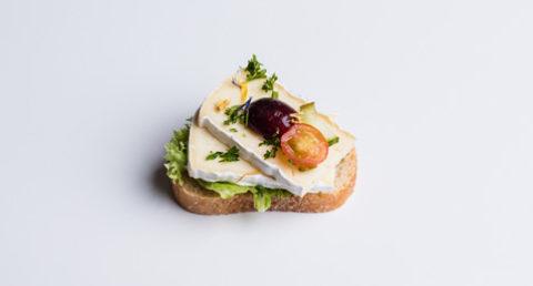 Canapé au fromage